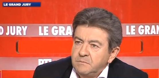 Jean-Luc Mélenchon, co-président du Parti de gauche, invité du Grand Jury RTL-LCI-Le Figaro.