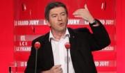 """Jean-Luc Mélenchon invité du """"Grand Jury""""."""